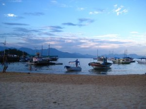 Sunset in Ilha Grande