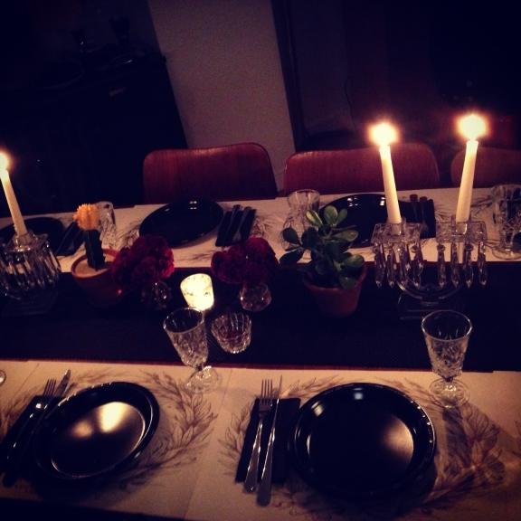 le table