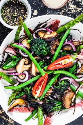 hemsley&hemsley salad via vogue.uk